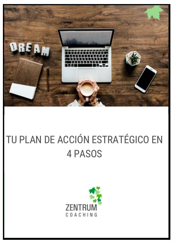 Tu plan de acción estratégico en 4 pasos